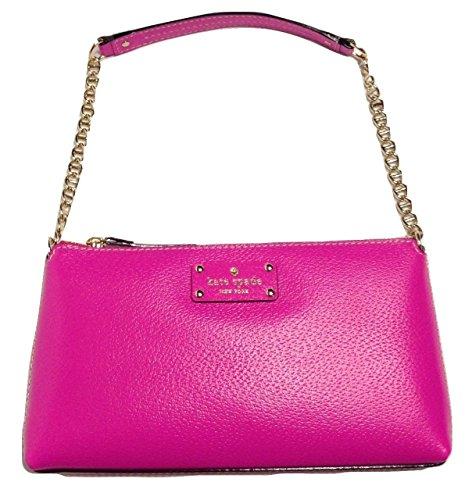 Kate Spade Wellesley Byrd Snapdragon Pink Leather Cross-body Bag
