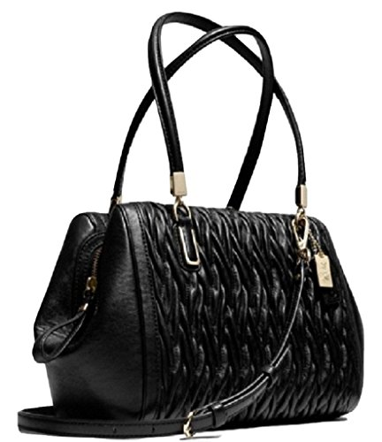 Coach Madison Gathered Twist Small Madeline East/west Satchel