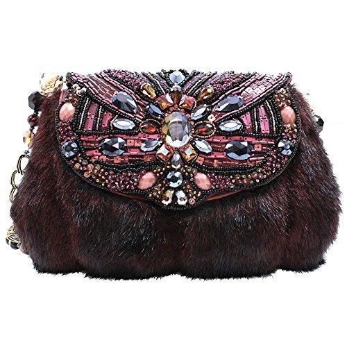 Mary Frances Fur-Real Handbag