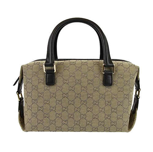Gucci Beige Original Canvas Joy Boston Bag Handbag 272375