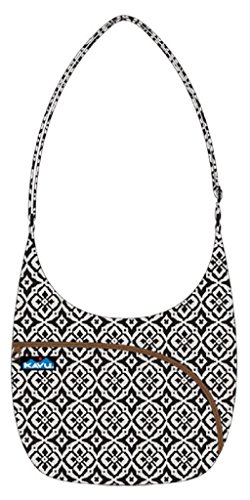 Kavu Women's Sydney Satchel, Black Mosaic, One Size