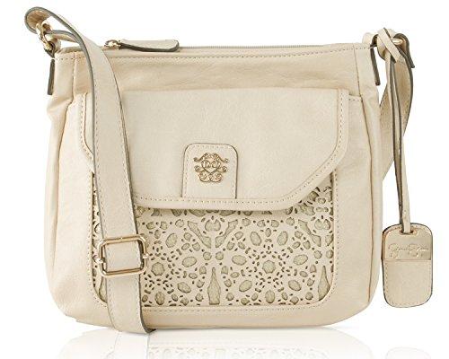 Jessica Simpson True Romance Crossbody Bag – Taupe/Gold