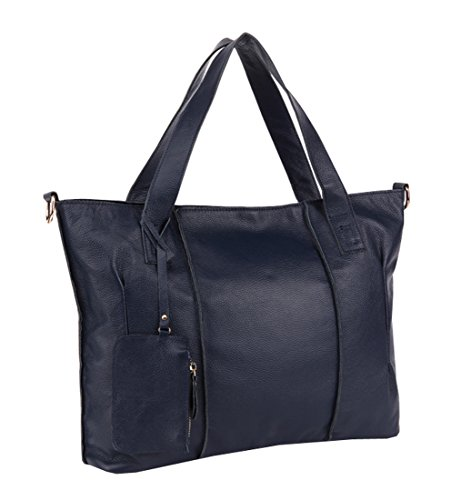 Heshe 2015 New Office Lady Genuine Leather Luxury Fashion Tote Top Handle Crossbody Shoulder Satchel Purse Women's Handbag