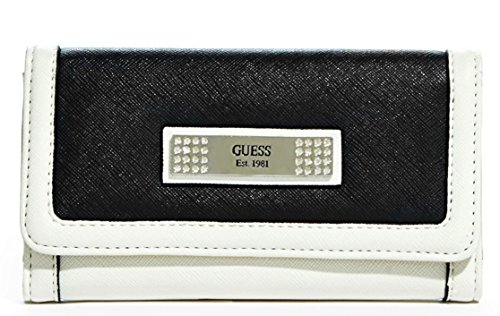 Guess Senuri Slim Wallet Clutch Bag, Black