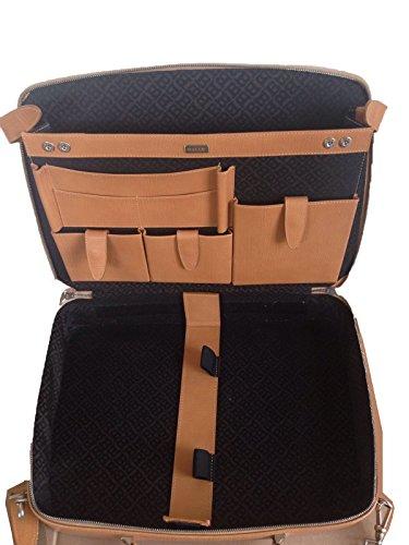 Vintage BALLY Men Luxury Leather Executive Business Briefcase / Attaché / Satchel with Detachable Shoulder Strap. Switzerland