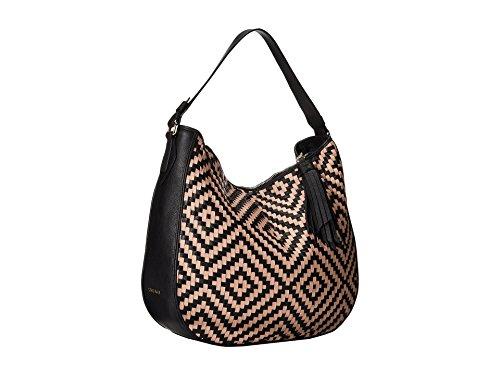 Cole Haan Skylar Hobo Handbag Black/Vachetta