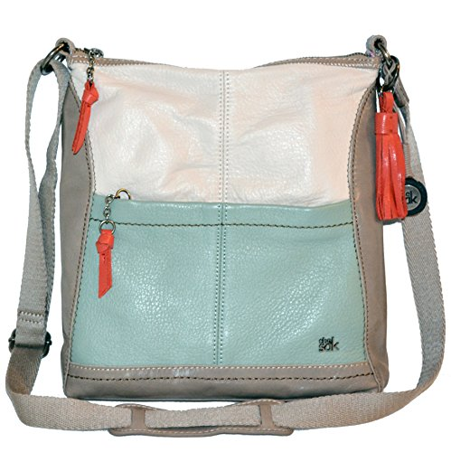 The Sak Leather Iris Crossbody Tote Bag Purse