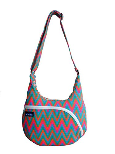 Kavu Women's Sydney Satchel, Neon Tile, One Size