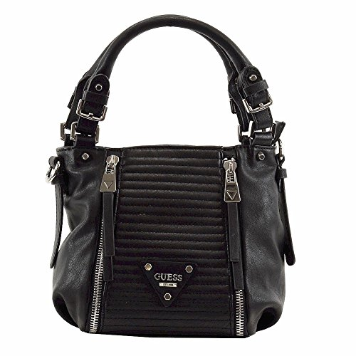 Guess Women's Presley Quilted Small Satchel Handbag