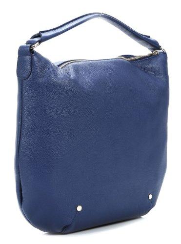 Furla Alissa Satchel Leather Dark-blue 739303