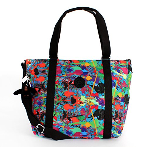 Kipling Adara Medium Tote Art Party Printed