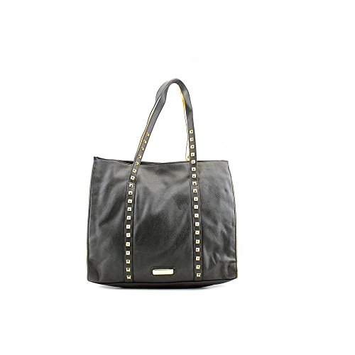 Steve Madden Lolitaa Tote Womens Black Purse Synthetic Tote