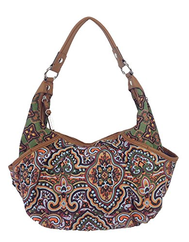 Tignanello 'Tapestry Print' Crescent Hobo Shoulder Bag, Multi