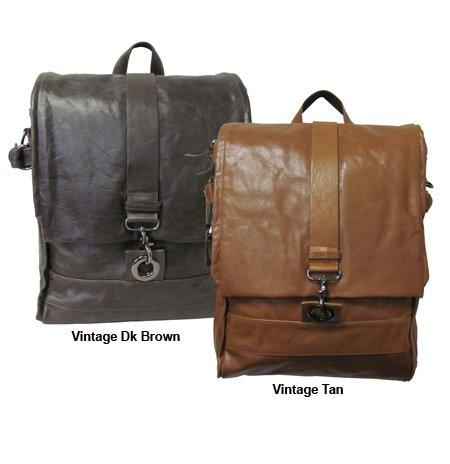 AmeriLeather Vintage Messenger Bag / Backpack