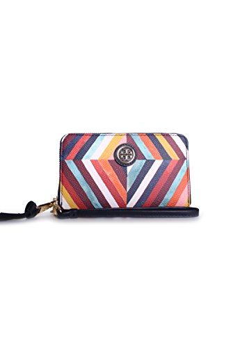 Tory Burch Kerrington Smartphone Wristlet in Diamond Combo A
