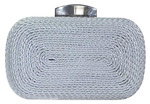George Versailles Clutch Baguette Bag Women Evening Handbag with Detachable Chain