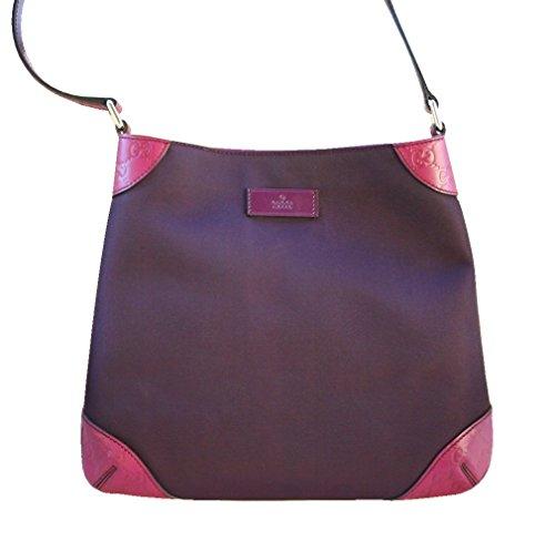 Gucci Purple Guccissima Leather Hobo Shoulder Bag 248272 8662