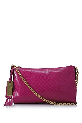 Lauren Ralph Lauren Banbury Snake Chain Shoulder Bag Pink – Lauren Ralph Lauren Designer Handbags