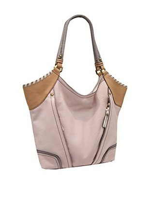 Oryany Tegan Leather Shopper Blush Multi Leather