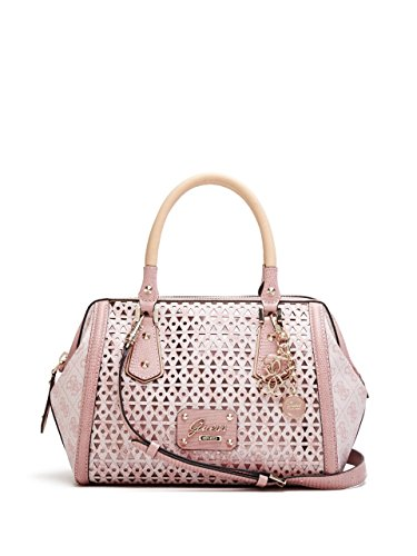 GUESS Women's Park Lane Shine Frame Satchel