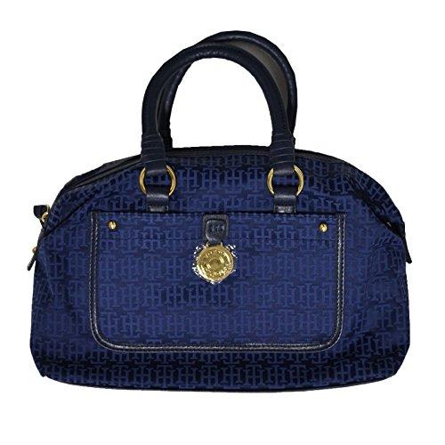 Tommy Hilfiger Bowler Handbag Blue Purse
