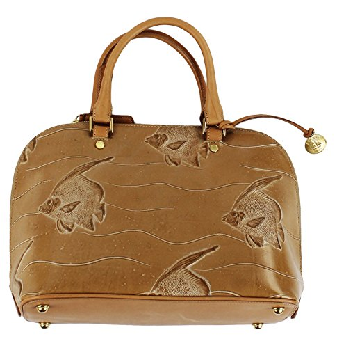Brahmin Women's Angelfish Vivian Leather Doctor Satchel Purse