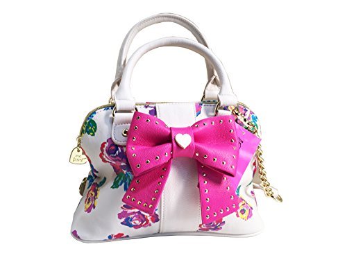 Betsey Johnson Small Dome Crossbody Handbag Hopless Romantic Floral Multi