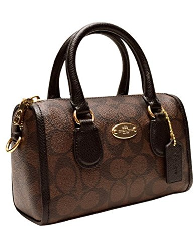 Coach Signature Leather Baby Bennett Satchel 35232