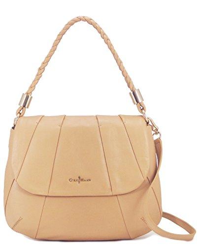 Cole Haan Womens Adele Jenna Shoulder Bag, Sandstone, One Size