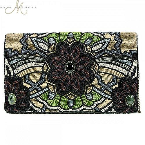 Mary Frances 60's Vibe Clutch Handbag