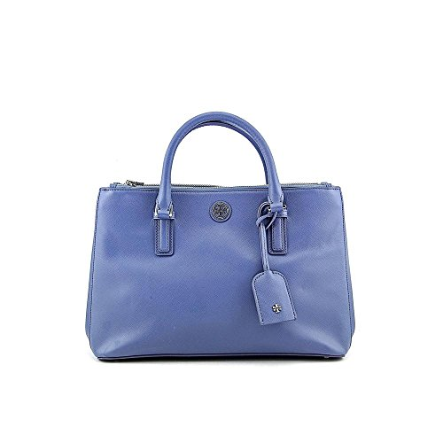 Tory Burch Robinson Mini Double Zip Womens Leather Satchel