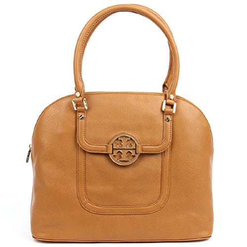 Tory Burch 32139680 Amanda Dome Satchel Royal Tan