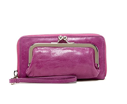 Hobo International Eda Wristlet Wallet in Violet Purple