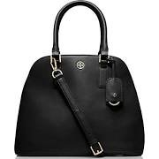 Tory Burch Robinson Open Dome Satchel – Black