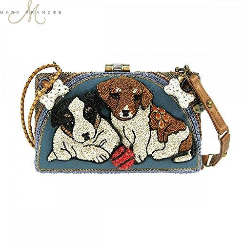 Mary Frances Puppy Power Handbag Handbag