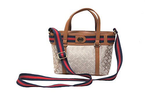 tommy hilfiger cv shopper handbags crossbody bag
