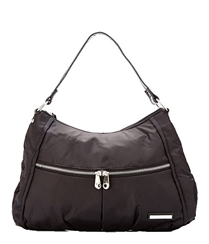 Kenneth Cole Reaction 'Wooster ST.' Nylon Hobo, Black
