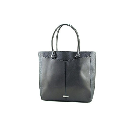 BCBG Nappa Leather with faux Tejus Travel Tote