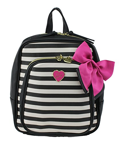 Betsey Johnson Candy Stripe Mini Backpack Handbag Multi