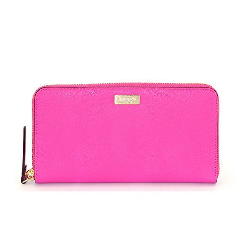 Kate Spade Newbury Lane Neda Bougainvillea Pink Clutch Wallet WLRU1498