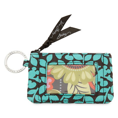 Disney Mickey's Perfect Petals Zip ID Case by Vera Bradley