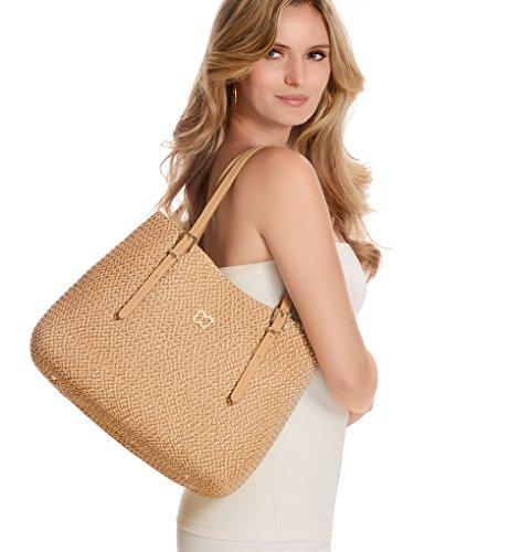 Eric Javits Women's Squishee Jav II Handbag One Size Peanut