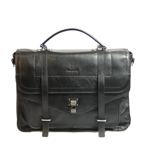 Nova Harley Luxury MADRID Leather diaper Bag / Purse for Mom or Dad with Removable Diaper Tote Inner