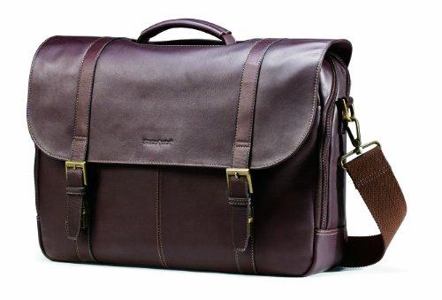 Samsonite Colombian Leather Flapover Case