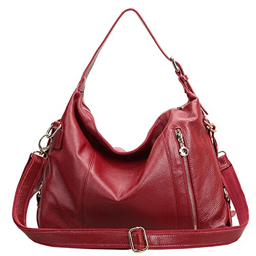 SAIERLONG Womens Belt Decoration Cowhide Messenger bag handbag shoulder bag