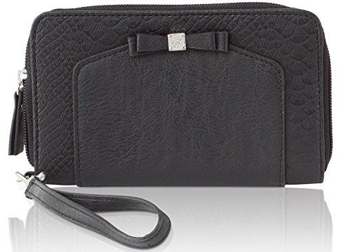 Jessica Simpson Tara Wristlet Zip Around Wallet