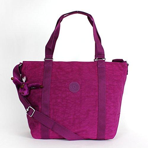 Kipling Adara Medium Tote Purple Dahli
