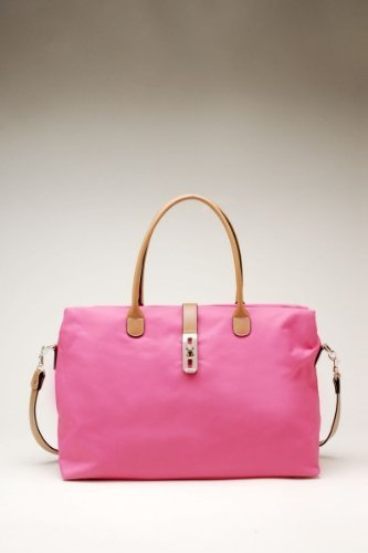 Women's Dual Strap Fashion Shoulder Handbag – Pink