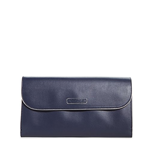 Vera Bradley Flap Clutch in Classic Navy, 14630-219