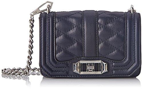 Rebecca Minkoff Mini Love Cross Body Bag, Midnight, One Size